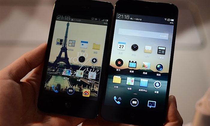 魅族 MX2 多图鉴赏及小米2、iPhone5对比图,超窄边框3.15mm!