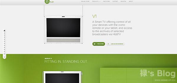 开动大脑!20个顶尖的HTML5动画网站欣赏!20.BeoPlay V1