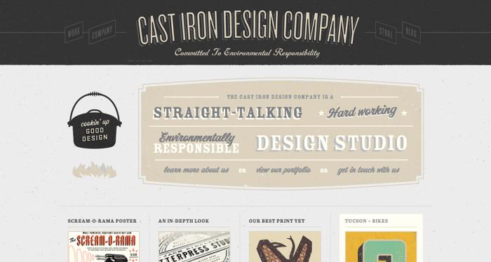 32个超赞复古网站设计,最时尚的复古风设计灵感!