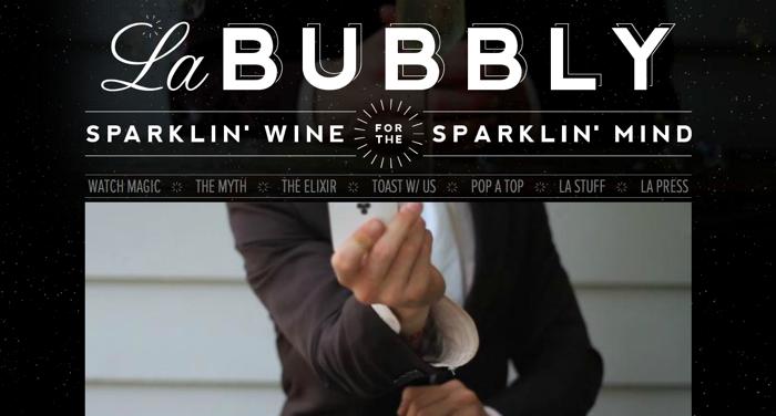 32个超赞复古网站设计,最时尚的复古风设计灵感!La Bubbly