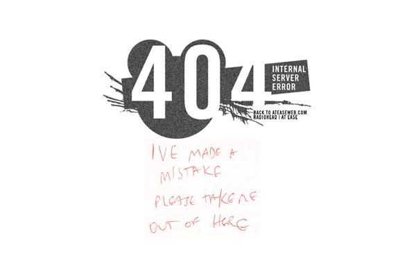 46个叹为观止的国外创意404错误页面设计